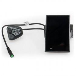 EVBIKE LCD Displej C18 pro středové pohony, barevný, USB - EVBIKE