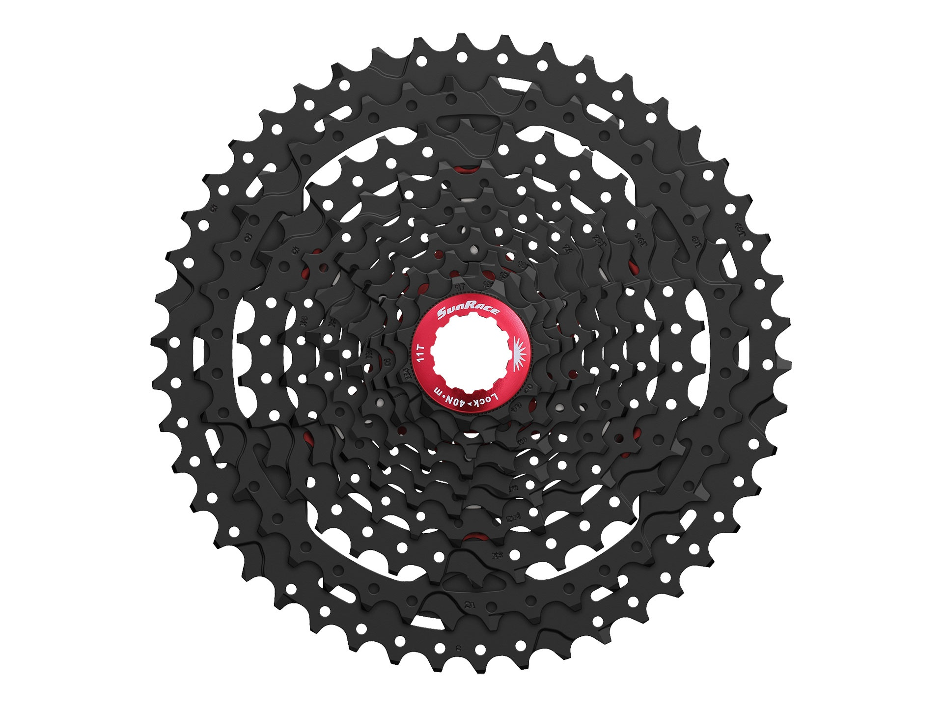 Kazeta SunRace MX3, 10s Black