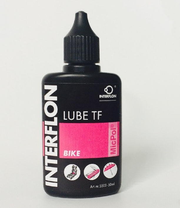 Olej INTERFLON Lube TF Bike na řetěz 50ml