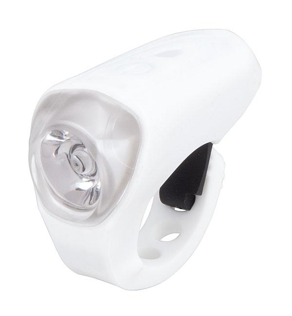 Světlo přední PRO-T Plus 0.5 Watt Super LED dioda nabíjecí přes USB kabel 185 Silicone