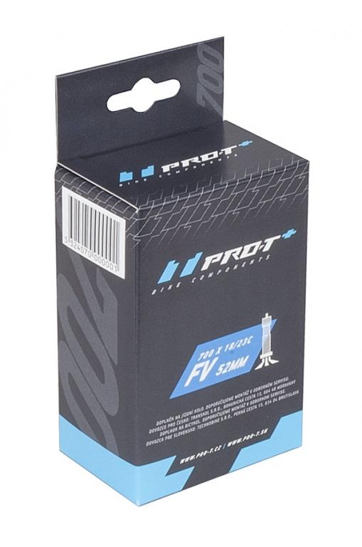 Duše PRO-T Plus 700x18-25C (18/25-622/630) FV 52mm v krabičce