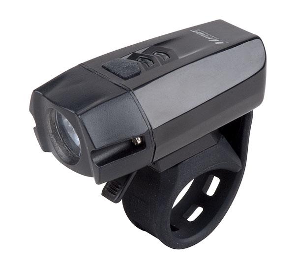 Světlo přední PRO-T Plus 400 Lumen Cree XPG R5 LED dioda nabíjecí přes USB kabel