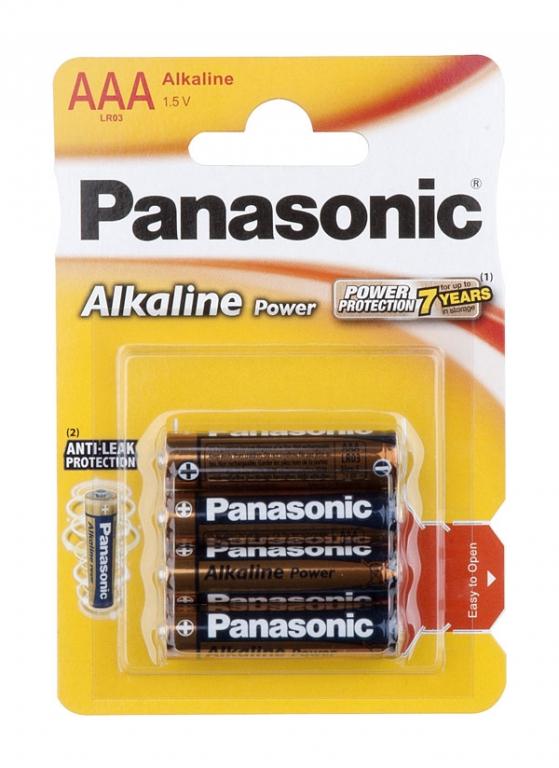 Baterie mikrotužková AAA (4ks)